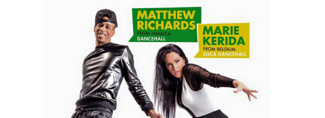 Masterclass de Dancehall amb Matthew Richards i Marie Kerida el 18 de febrer!